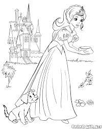 Cuccioli Principesse Disney Da Colorare Playingwithfirekitchencom