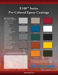 Pre Coloured Epoxy Coating Chart 2 Epoxy Floor Colored