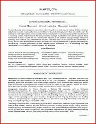 Beautiful Accounting Cv Example Wing Scuisine
