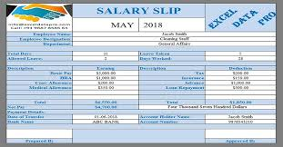 9 Ready To Use Salary Slip Excel Templates Exceldatapro