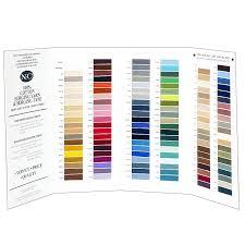 Yarn Chart Cotton Serging Chart