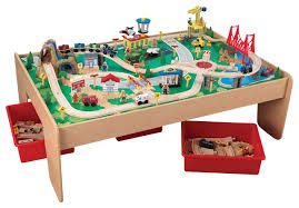 Kidkraft Kids Tabletop Mountain Train Set contemporary-kids-toys-and-games