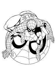 Baby Spiderman Coloring Pages Online Free Coloring Pages For Kids
