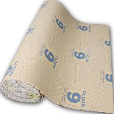 carpet underlay roll. cloud 9 cirrus carpet underlay 9mm thick full roll vidalondon o