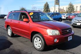 Used 2003 Toyota Highlander For Sale | Dubuque IA | JTEHF21A230153337