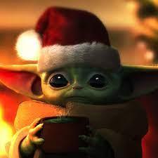 Christmas Baby Yoda And Mandalorian ...