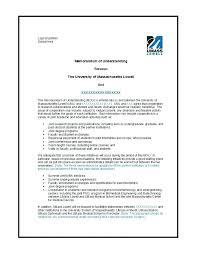 Memorandum Of Understanding Template Word Ideas Formidable