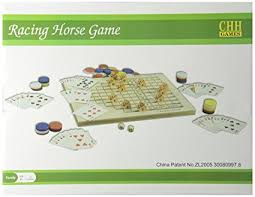 Wooden Horse Race Game Rules Amazon The Racing Horse Game Toys Games 65