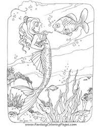 Small Picture Download Mermaid Coloring Pages For Adults Ziho Coloring