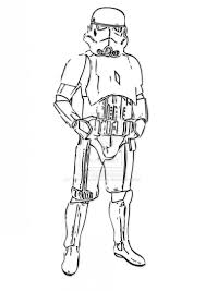 Stormtrooper Coloring Page Pages Printable Unique Star Wars X Mask