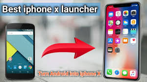 Best iphone X Launcher app   Valentine's Day Gift app   turn android Phone  into iphone X ios - YouTube