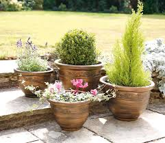 home extra large outdoor planters greenhurst pack of four plastic antique bronze with large outdoor planter