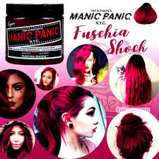 Manic Panic Hair Colour Chart Manic Panic Vampire Red Hair Color Louis Tores