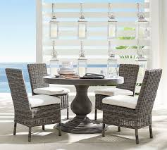 geneva concrete round dining table huntington dining chair set