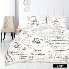 printed script duvet cover google search french country duvet covers french duvet covers queen french duvet