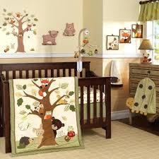 woodland themed crib bedding
