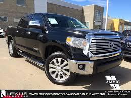 Used 2015 Black Toyota Tundra 4WD Crewmax 146