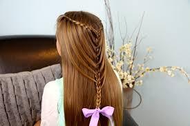 Hairstyle Waterfall waterfall twists into mermaid braid cute hairstyles cute girls 7898 by stevesalt.us