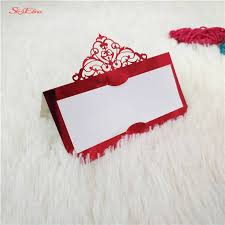 10/50/<b>100Pcs</b> Laser Cut fashion <b>Seat Cards</b> Table Name Cards ...