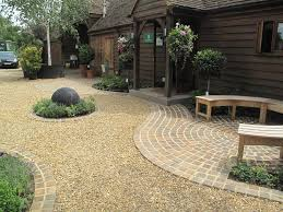 Small Picture Garden Design Gravel Ideas Gardening Pinterest Yellow quartz