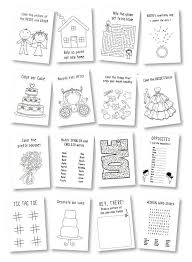 personalized kids wedding activity books with crayons this listing is for 6 activity books crayons the book cover is personalized