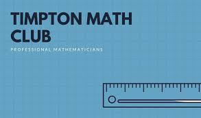 Blue Ruler Simple Grid Math Teacher Business Card