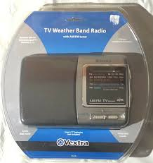 Vextra VX340 TV Weather Band Radio With AM/FM Brand New In Package for sale  online