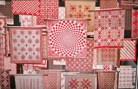 Cupcakes 'n Daisies: Red and White Tribute Quilt &  Adamdwight.com
