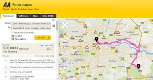 Driving Trip Planner Autoprotect Driving Home For Christmas Driving Route Planner
