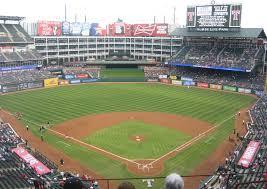 Rangers Stadium Seating Chart Texas Rangers Seating Guide Globe Life Park Rangers