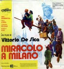 Risultati immagini per Miracolo a Milano - tramonto di favola immagini