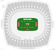 Chiefs Seating Chart With Rows Kansas City Chiefs Seating Guide Arrowhead Stadium