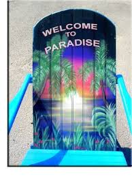 tropical painted furniture. adirondack chair tropical parrot head margaritaville style furniture painted u