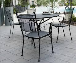 fortable Outdoor Garden Wrought Iron Chair Metal Mesh Cafe