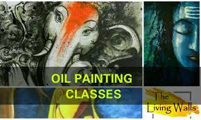 professional oil painting classes by the living walls with the living walls studio