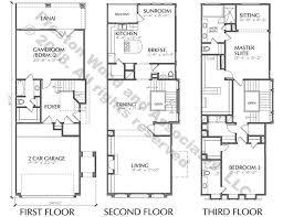 Floor Plans  The Preiss CompanyTownhomes Floor Plans