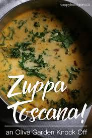 how to make olive garden s zuppa toscana