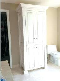 small bathroom linen closet ideas cabinets storage best home astonish