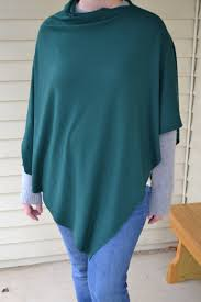 easy diy poncho you can sew in minutes