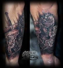 татуировка тевтонский рыцарь тату салон юрец удалец философия