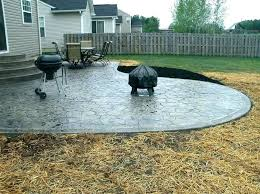 stamped concrete per square foot concrete patio costs per square foot concrete cost fascinating how much is stamped concrete vs cost per square foot