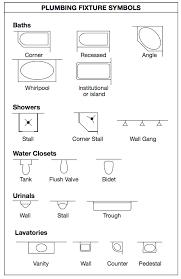 floor plan symbols bathroom. Contemporary Bathroom Blueprint Symbols  Bath For Floor Plan Symbols Bathroom