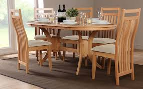 plain design oval dining table set for 6 trendy oval dining table for 6 36 inspiring
