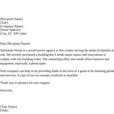 100 Donation Form Template For Non Profit Thank You Letter