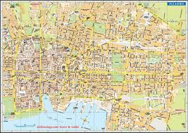 Cartina Di Palermo City Map Palermo