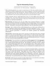 Example Of Scholarship Essay Writing Scholarship Essays Examples Scholarship Papers