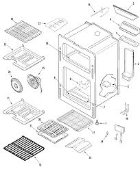 Mgr6875adb gemini 30 double oven freestanding gas range oven parts diagram