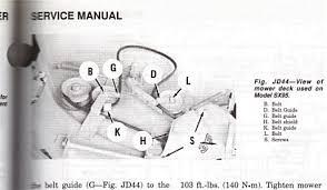 john deere 400 wiring diagram wirdig john deere sx75 belt diagram have a john derre sx95 and the