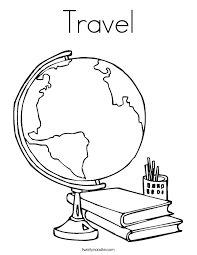 Small Picture Coloring Page Travel Coloring Coloring Pages