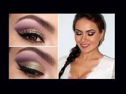 spring fling romantic eye makeup you